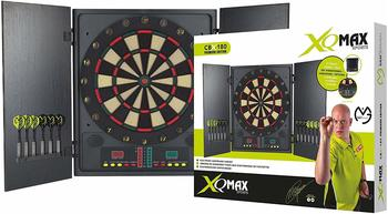 XQ Max Darts MvG Elektronische Dartscheibe mit Schrank CBX-180