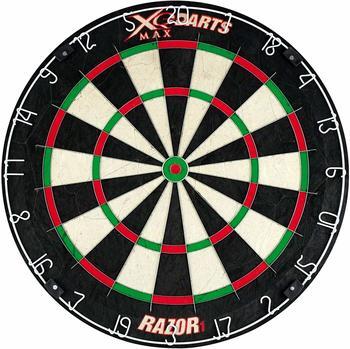 XQ Max XQmax Darts Dartscheibe Razor 1 Sisal 45,5 cm QD6000010