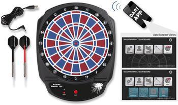 sunflex-dartscheibe-smart-tec-packung-28-mit-dartpfeilen-bluetooth-gesteuerte-dartscheibe-schwarz