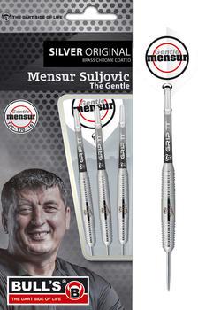 Bull's Team Player Mensur Suljovic Silver Steeldarts 21 gram