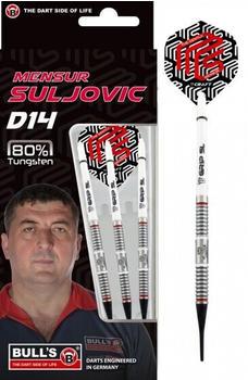 Bull's Mensur Suljovic D14 Steeldart 80 % Tungsten 18 gram
