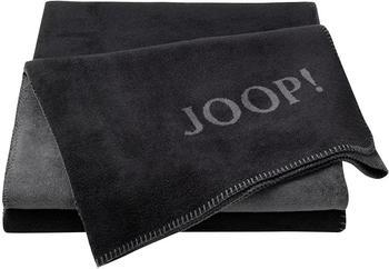Joop! Uni-Doubleface 150x200cm schwarz/anthrazit