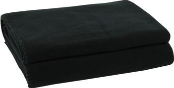 Zoeppritz Soft-Fleece 160x200cm schwarz