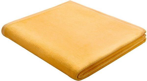Biederlack Cotton Pure 150x200cm gelb