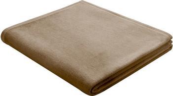 Biederlack Cotton Pure 150x200cm braun