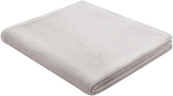 Biederlack Cotton Pure 150x200cm silber