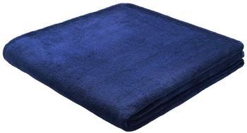 Biederlack King Fleece Uni 150x200cm königsblau