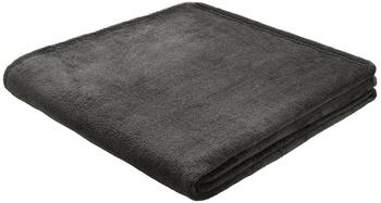 Biederlack King Fleece Uni 150x200cm anthrazit