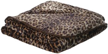 Gözze Cashmere Feeling Leopard 150x200cm braun
