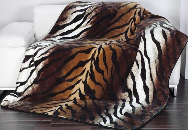 Gözze Cashmere Feeling Tiger 150x200cm braun