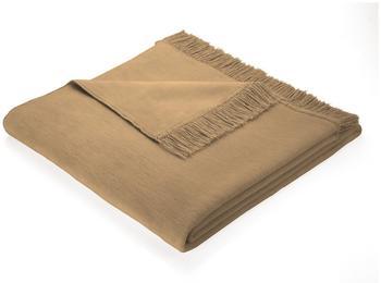 Biederlack Cotton Cover 100x200cm grau