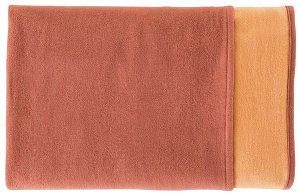 Ibena Doubleface Cotton Pur 140x200cm rot