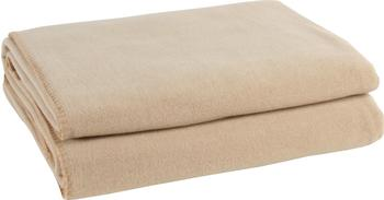Zoeppritz Soft-Fleece 110x150cm beige