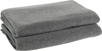 Zoeppritz Soft-Fleece 110x150cm mittelgrau