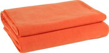 Zoeppritz Soft-Fleece Decke 110x150cm neon-grün