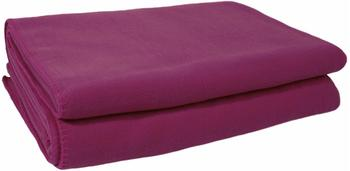 Zoeppritz Soft-Fleece 110x150cm fuchsia