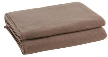 Zoeppritz Soft-Fleece 110x150cm smoke