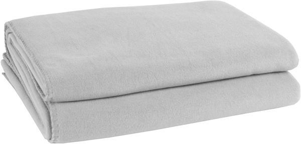 Zoeppritz Soft-Fleece 110x150cm hellgrau