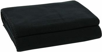 Zoeppritz Soft-Fleece 110x150cm schwarz