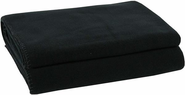 Zoeppritz Soft-Fleece 110x150cm schwarz