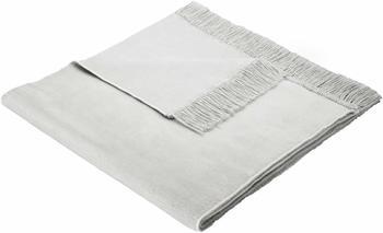 Biederlack Cotton Cover 50x200cm silber