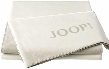 Joop! Uni-Doubleface 150x200cm ecru/feder