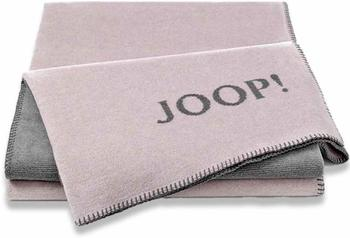 Joop! Melange Doubleface 150x200cm rosé/grey