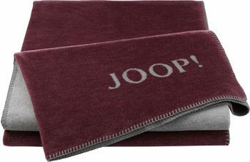 Joop! Melange Doubleface 150x200cm rouge/grey