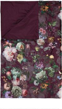 Essenza Fleur 220x265 cm burgundy
