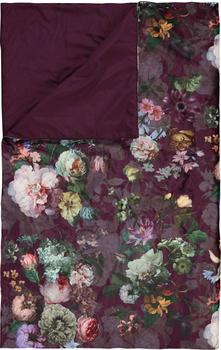 Essenza Fleur 180x265 cm burgundy
