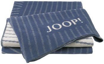 Joop! Cross Stripes 150x200cm jeans/rauch