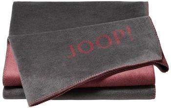 Joop! Uni-Doubleface 150x200cm schiefer/rouge