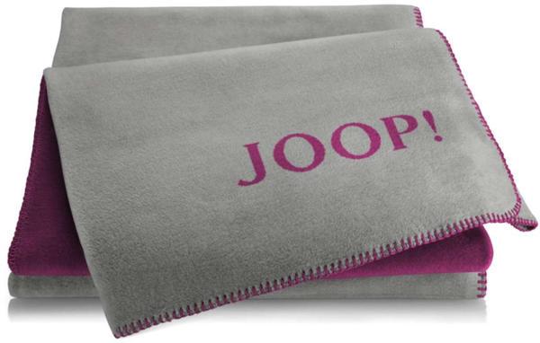 Joop! Uni-Doubleface 150x200cm graphit/beere