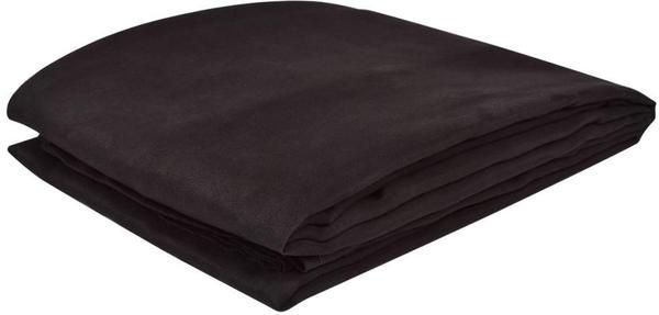 vidaXL Micro-Suede Sofaüberwurf 270x350cm braun