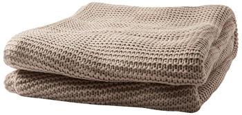 Tom Tailor Plain Knit 130x170cm beige