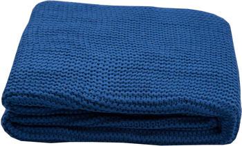Tom Tailor Plain Knit 130x170cm blau