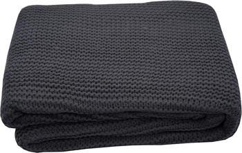 Tom Tailor Plain Knit 130x170cm anthrazit