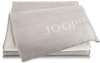 Joop! Melange Doubleface 150x200cm silber/rauch