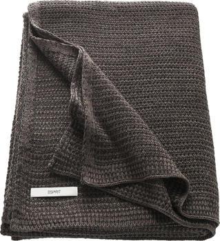 Esprit Home Knitted 130x170cm dunkelbraun