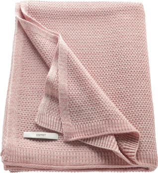 Esprit Home Knitted 130x170cm rosa