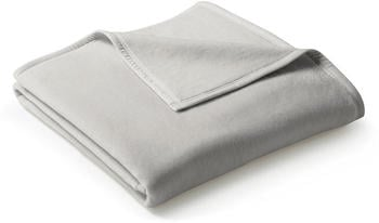 Biederlack Uno Cotton 150x200cm grau