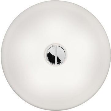 FLOS Button Deckenleuchte weiß/weiß
