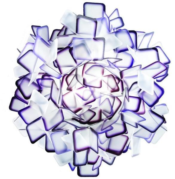 Slamp Deckenleuchte Clizia lila