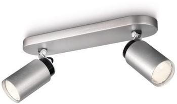 Philips Ecomoods Spotbalken 2er Aluminium (55652/48/16)