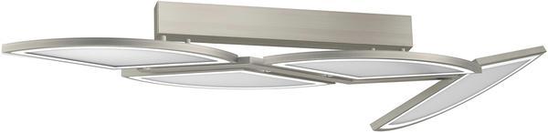 EVOTEC LED Deckenleuchte MOVIL, LED Deckenlampe silberfarben