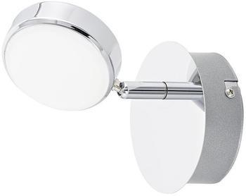 Eglo Salto LED Wand & Deckenspot, 1-flg., chrom, satiniert