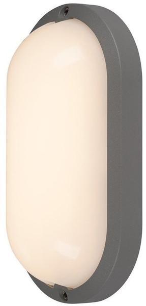 SLV TERANG 2 XL SENSOR, Wand- und Deckenleuchte, oval, anthrazit, 3000K, IP44 229955