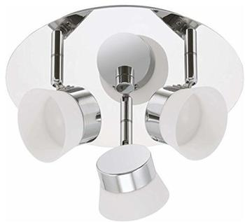 Briloner LED Deckenleuchte 3er Spot Briloner Surf 2209-038 Badezimmerlampe