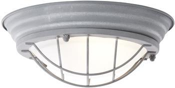 Brilliant Typhoon Wand- und Deckenleuchte LED E27 30W Beton-Grau, Weiß