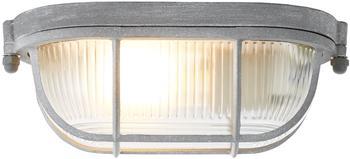 Brilliant Bobbi Wand- und Deckenleuchte 28x16cm grau Beton